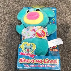 Sing-a-ma-Lings musical toy NWT